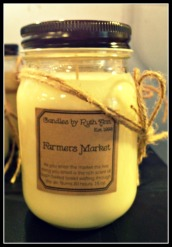 Full Candle pic Farmers Mkt