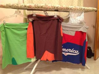 t-shirt skirts